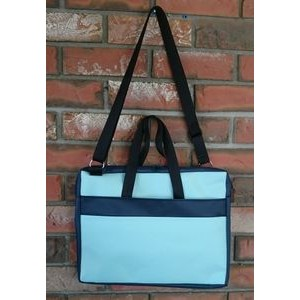 "13.5""x 10.5"" x 1.5"" 600D Polycanvas Computer/Tablet Bag"