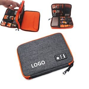 Double-Layer Cable Organizer & Electronics Accessories Cases