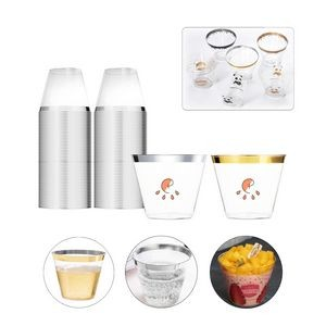Plastic Water Cup,Mousse Cup and Drinking Cup