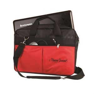 The Entourage Computer Bag - Red